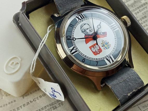 NOS Watch Vostok Pope John Paul 2