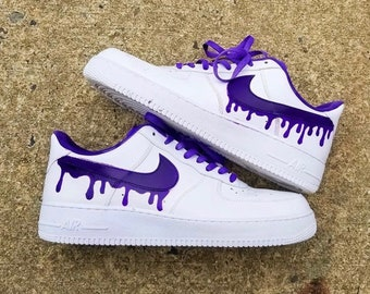 39dfbbfe42 Purple Rain - Air Force 1 (Custom)