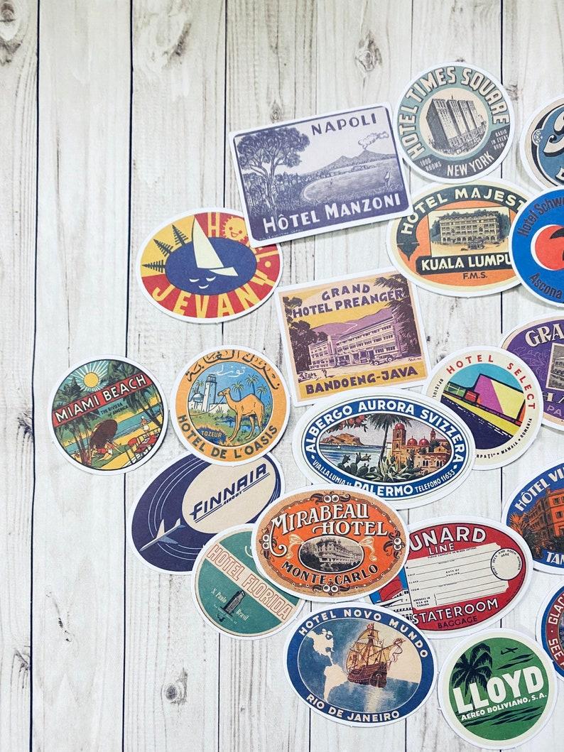 junk journal sticker Junk journal Ephemera stickers A lot of 30 stickers scrapbook sticker ephemera sticker DIY craft set.