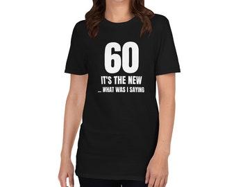 Happy 60th Birthday60th Birthday Gift60 Years Old60th Party1959 BirthdayShort Sleeve Unisex T Shirt