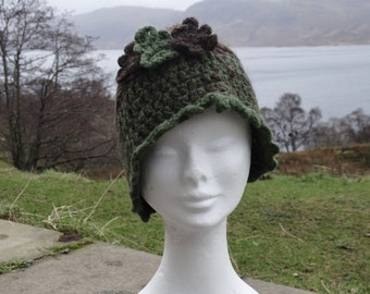 d62bc909394 Hebridean and Shetland Wool Hand Knitted Hat