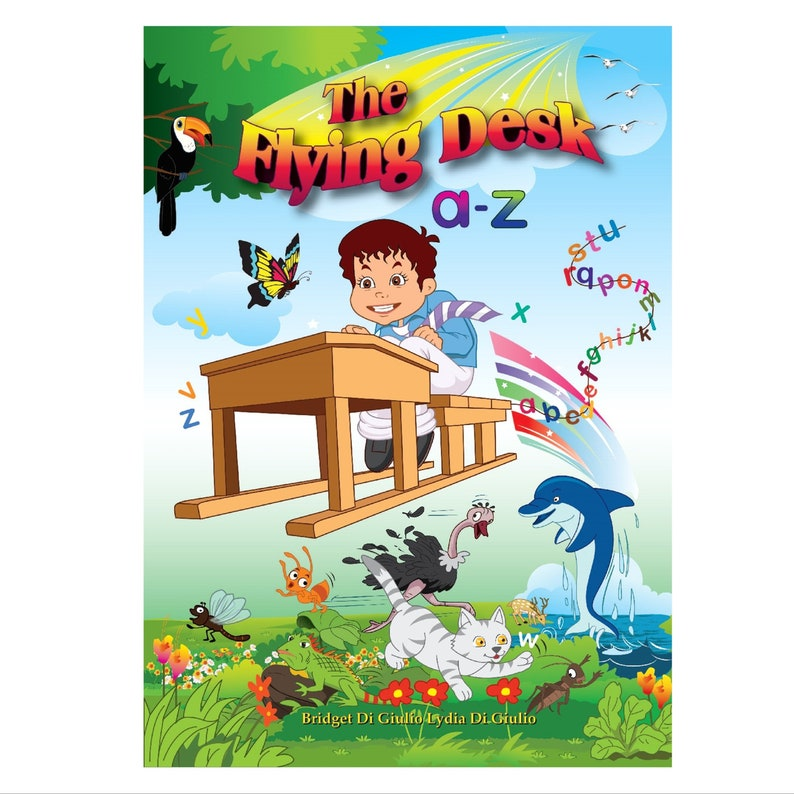 The Flying Desk a-z  Alphabet Book  Learn ABC  Kindergarten image 0