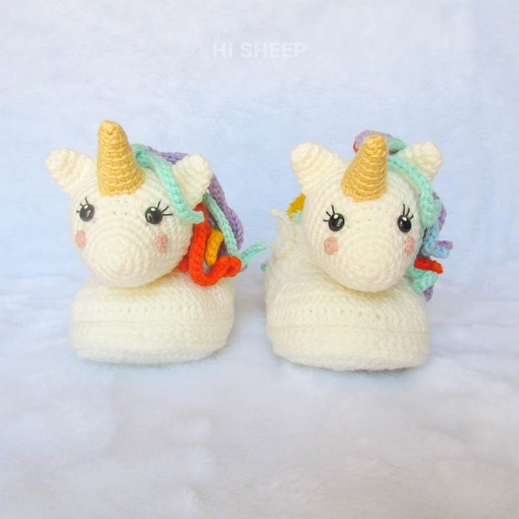 Free Crochet Unicorn Pattern - Red Ted Art - Make crafting with ...   570x570