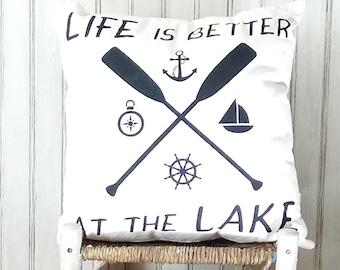Life is Better at the Lake Summer- Kansas City, MO-by Metro Pillow KC