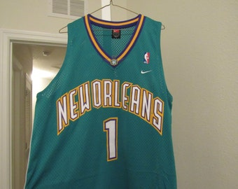 Nike Swingman New Orleans Hornets Baron Davis Jersey 75cf1c3ce