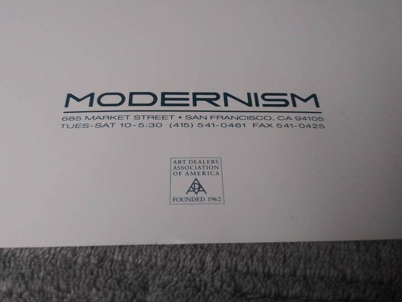 1996 Mel Ramos Modernism Gallery Show Brochure Program Catalog for Prominent Pop Art Artist Butterfinger Graphics