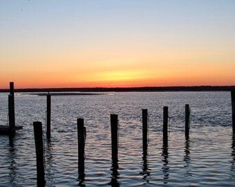 Sea Isle Sunset over the Bay 01