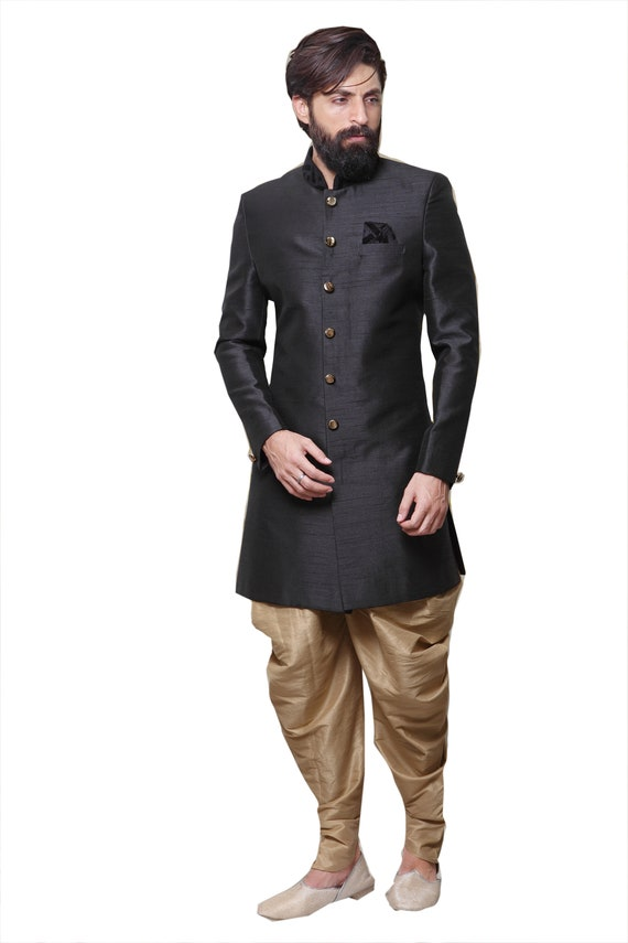 Indian Dress Ethnic Indo Western Wedding Partywear Reception Festival Functions Exclusive Designer Traditional Suit Dress For Men
