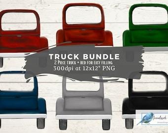 Truck Clip art, Blank truck, Custom Truck, editable truck PNG, Sublimation download, vintage truck, Christmas truck, fall truck clipart