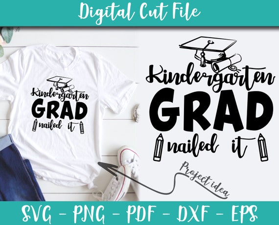 29+ Svg, Dxf, Eps & Png Cutting Files Graduation Nailed It Bundle DXF