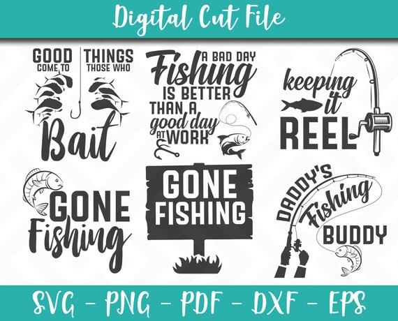 Download Fishing Svg Bundle Pack 6 Svg Files Fishing Svg File Fishing Etsy