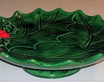 Vintage Ready to Paint Set Of 3 Leaf Dish Plates Bowls Ceramic Bisque Salt Wells