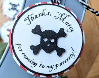 Pirate Thank You Tags