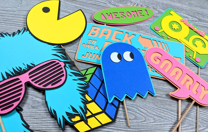 1980s Photo Props Customized or Personalized image 0