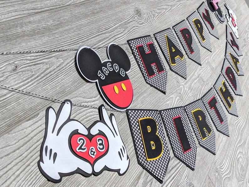 Mickey Mouse & Minnie Mouse Birthday Bash Package image 0