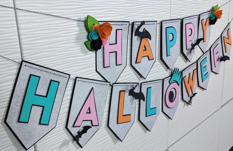Happy Halloween Banner: Pastel image 0