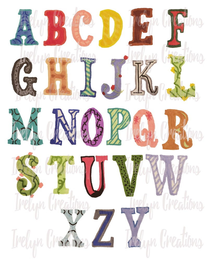 Cool Bubble Letter Fonts To Draw