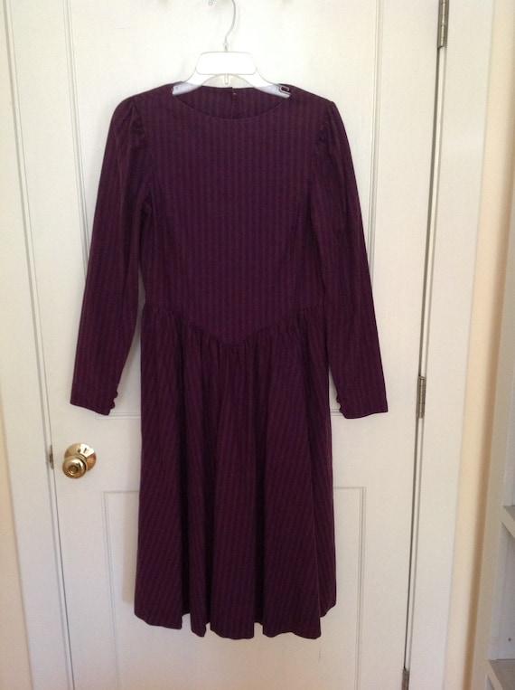 Laura Ashley 1980's Day Dress