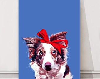 Dog face painting   Etsy
