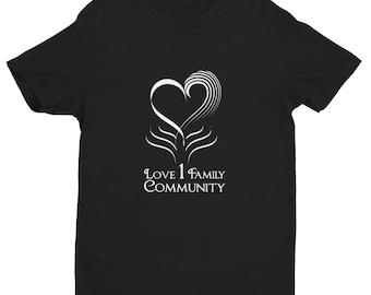 Jt Chronicles 1 Love 1 Family 1 Community Short Sleeve T-shirt