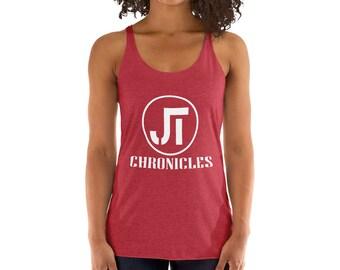JT Chronicles Cape Cod Women's Racerback Tank