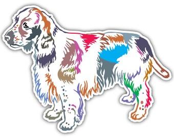 Coloriage Chien Springer.Springer Stickers Etsy