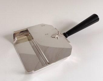 Vintage Sheffield Silverplate Silent Butler Crumb Catcher
