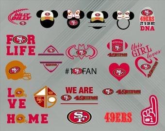 San Francisco 49ers SVG e766a5559