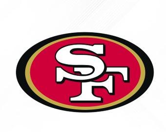 San Francisco 49ers SVG Dxf PngSan Logo