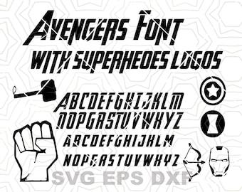 Superhero Font Svg Avengers Font Svg Avengers Alphabet Letters Svg Marvel Font Svg Avengers Clipart Font Svg Avengers Vector Font Svg 25104 Free Svg Fonts High Quality For Your Designs