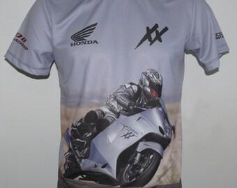 Sweat Shirt Hoodie Customised CBR 1100 Xx Motorcycle Hoodie Sweatshirt Blackbird