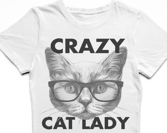 dbd31ce7e Crazy Cat Lady T-Shirt Cat Shirt Cat Lover Gifts Funny Cat Shirt Cool Cat  Tee