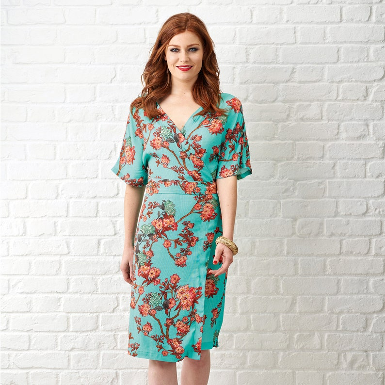 Wrap Dress Sewing Pattern Simply Sewing Patterns The Wrap image 0
