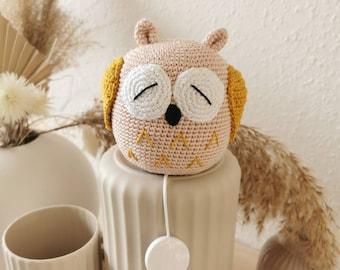 Music Box Owl Amigurumi Sleep Aid