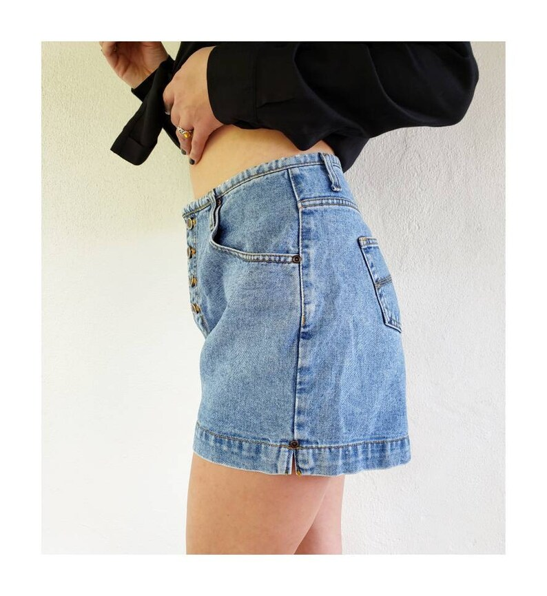 Vintage Route 66 High Waisted Shorts