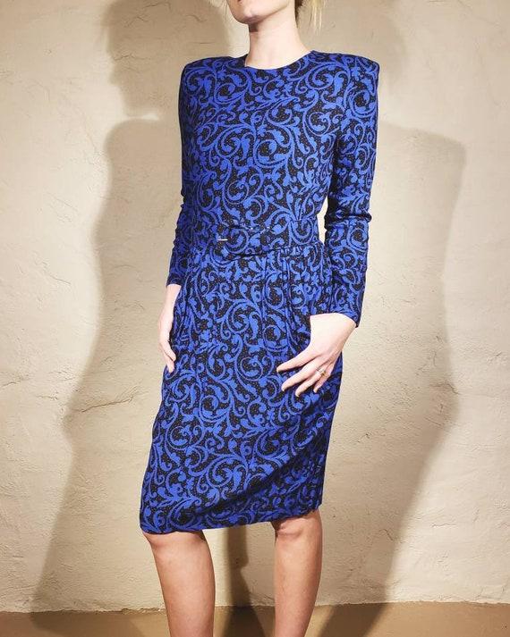 Vtg Willow Ridge 1980's Dress