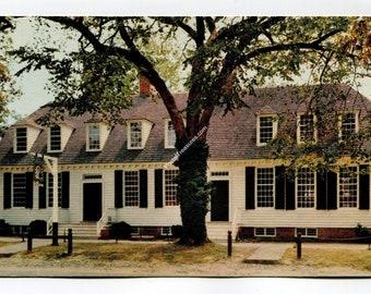 Wetherburns Tavern Williamsburg Postcard
