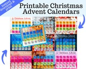Printable Advent Calendar for the Family - With 11 Themes, Scripture Memory, the Christmas Story, & Phonics Bonus for Beginning Readers!