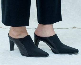 6ae85c232f550 Black heeled shoes | Etsy