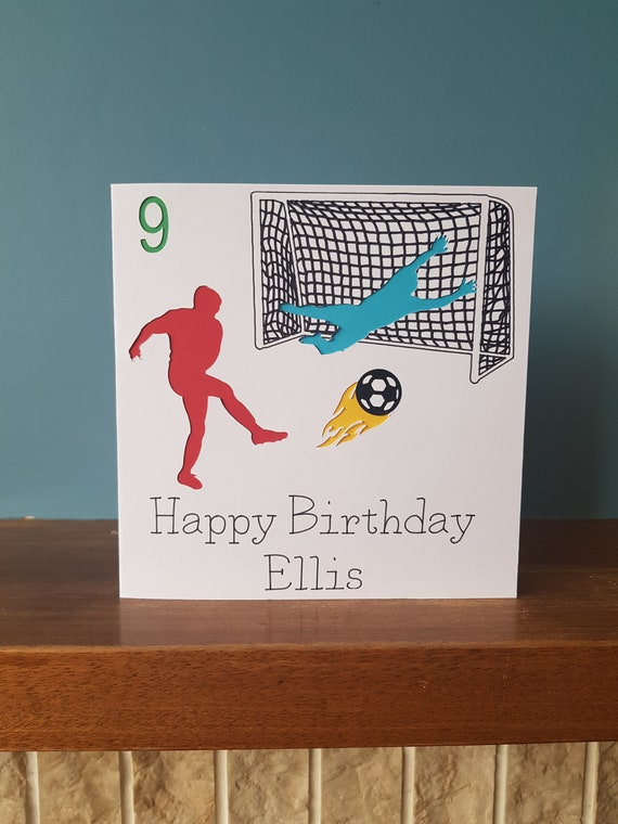 Wishes To You Nephew Football Bag Boots /& Bottle Design Happy Birthday Card