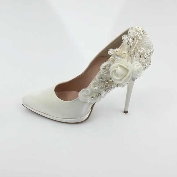 Custom Made In Italy Bride Shoes Etsy
