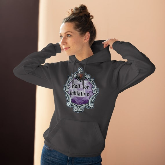 Roll for Initiative Caverns /& Creatures Hoodie