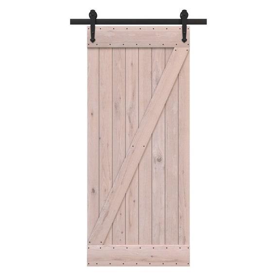DIY Full Z Sliding Barn Door Kit   Cape May, Rustic Sliding Doors, Barn  Door With Or W/o Hardware, Built To Order Barn Door Kits