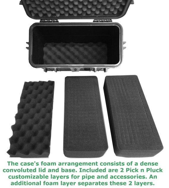 """CLOUD//TEN 8/"""" Smell Proof Case fits Glass Tobacco Products Up to 6.0/"""""""