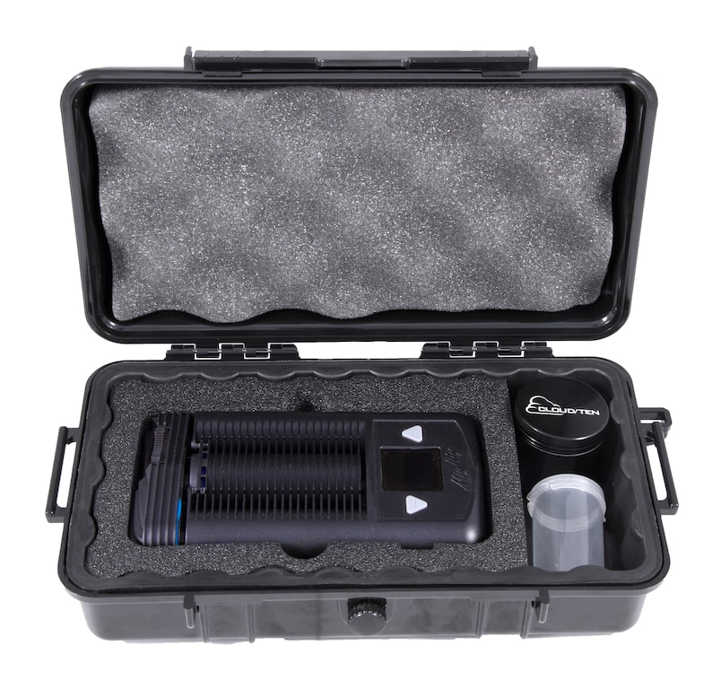 CLOUD/TEN Smell Proof Vape Case For Storz and Bickel MIGHTY and Vaporizer  Accessories – Comes w/ Case , Grinder , Stash Container