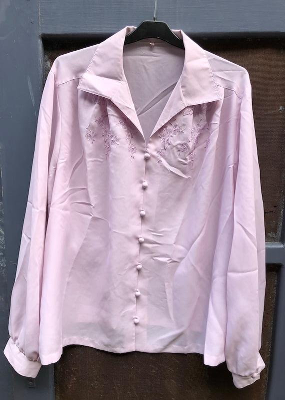 Lilac parma blouse - image 1