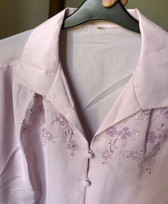 Lilac parma blouse - image 2