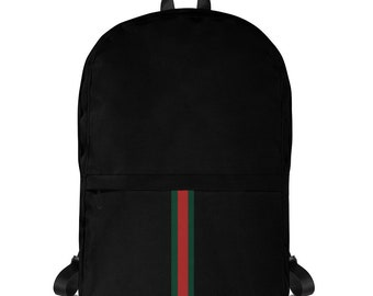 9fcdb0a2ab7 Black Gucci Backpack