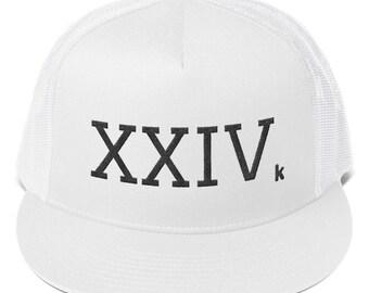 2a788554589a6 XXIV Trucker Cap - 24K Magic Cap