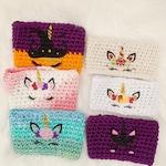 Unicorn Cozies | Crochet Cozies | Travel Cup Sleeve | Unicorn Crochet | Coffee Lovers | Holiday Cozies | Stocking Stuffers | Christmas Gifts
